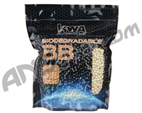 KWA Biodegradable .20g Airsoft BB's - 5,000 Rounds