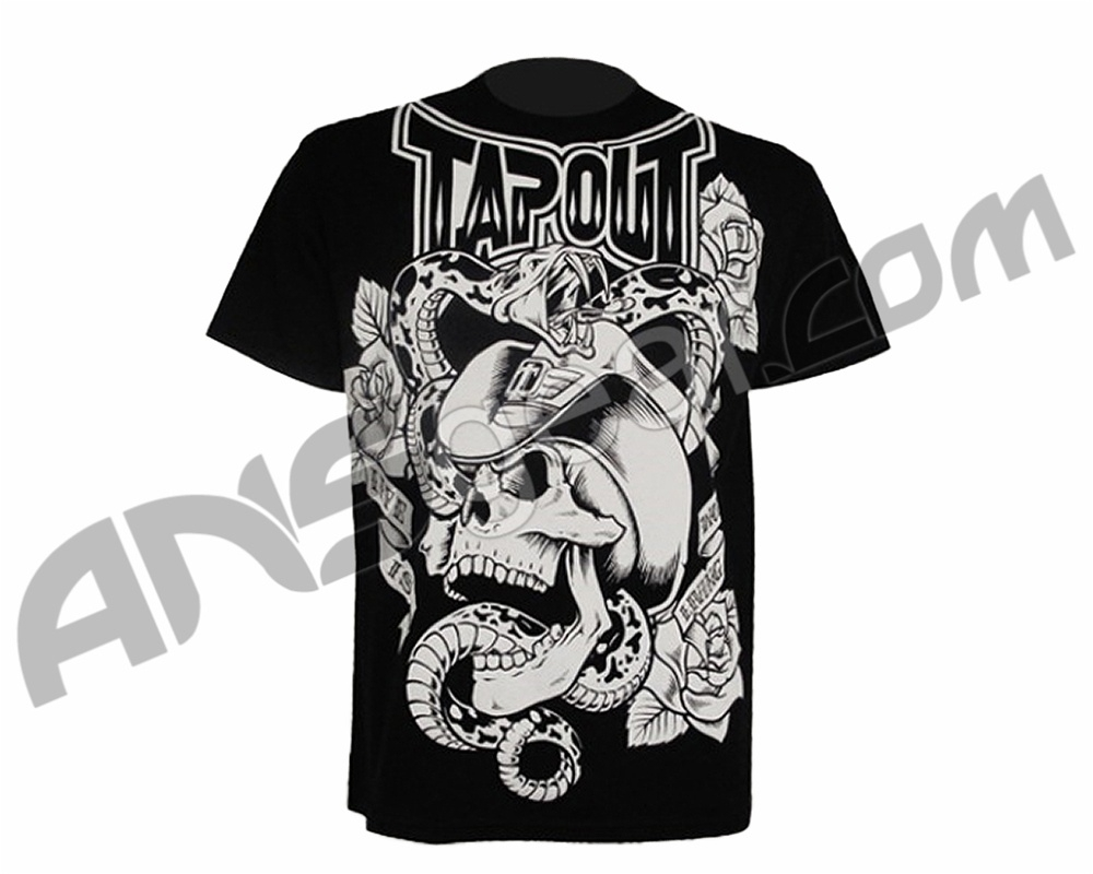 Tapout Designs Tapout t-shirt rattled - blackTapout Shirt Designs