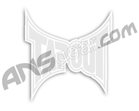 Tapout Logo Sticker White