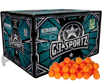 GI Milsim 1 Star Paintballs - 2000 Rounds