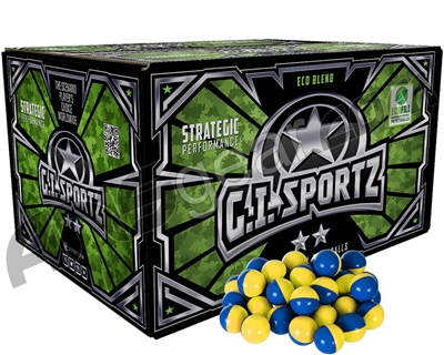 GI Milsim 2 Star Paintballs - 2000 Rounds