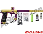 Planet Eclipse Geo 3 Paintball Gun - Gold/Purple