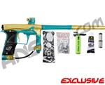 Planet Eclipse Geo 3 Paintball Gun - Gold/Teal