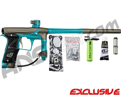 Planet Eclipse Geo 3 Paintball Gun - Grey/Teal
