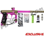 Planet Eclipse Geo 3 Paintball Gun - Khaki/Pink