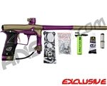 Planet Eclipse Geo 3 Paintball Gun - Khaki/Purple