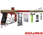 Planet Eclipse Geo 3 Paintball Gun - Khaki/Red