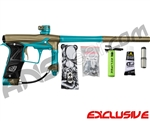 Planet Eclipse Geo 3 Paintball Gun - Khaki/Teal
