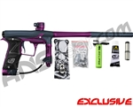 Planet Eclipse Geo 3 Paintball Gun - Navy Blue/Purple