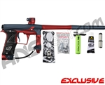 Planet Eclipse Geo 3 Paintball Gun - Navy Blue/Red