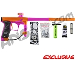Planet Eclipse Geo 3 Paintball Gun - Orange/Pink