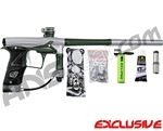 Planet Eclipse Geo 3 Paintball Gun - Silver/Forest