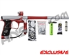 Planet Eclipse Geo 3 Paintball Gun - Silver/Red