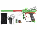 2013 Proto Reflex Rail Paintball Gun - Lime/Red