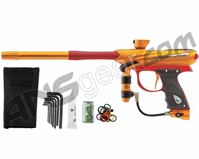 2013 Proto Reflex Rail Paintball Gun - Orange/Red