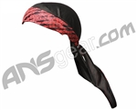 2012 Valken Redemption Paintball Headwrap - Red Scar