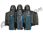 2012 Valken Redemption Paintball Harness 3+6 - Blue Slash