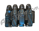 2012 Valken Redemption Paintball Harness 4+7 - Blue Slash