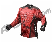 2012 Valken Redemption Paintball Jersey - Red Scar