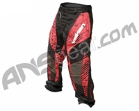 2012 Valken Redemption Paintball Pants - Red Scar