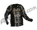 2011 Valken Redemption Paintball Jersey - Black Chainmail