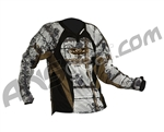 2011 Valken Redemption Paintball Jersey - White Chainmail