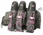 2012 Valken Crusade Paintball Harness 3+6 - Tron Pink