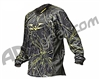 2012 Valken Crusade Paintball Jersey - Static Yellow