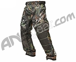 2012 Valken Crusade Paintball Pants - Static Green/Orange