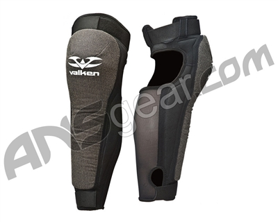 2011 Valken Paintball Impact Knee/Shin Pads - Black