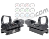 Valken Tactical Reflex Sight 1x33 R/G/B w/ Weaver - Black