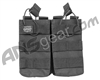 Valken Airsoft Tactical AR Double Magazine Pouch - Black