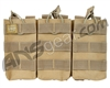 Valken Airsoft Tactical AR Triple Magazine Pouch - Tan