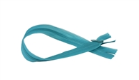 "Mosiac Blue Invisible Zip by Rubi 60cm (23.50"")"