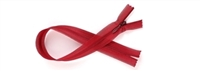 "Chinese Red Invisible Zip by Rubi 25cm (7.8"")"