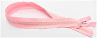 "Pink Lady Crystal Zips by Ayanski 60cm (23.5"")"