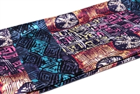 Ayanski Two Way Jersey Print (African Print) Sold per 2.5 yards. (Width of Fabric is 72 inches (183 cm)). 100% Polyester