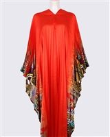AYANSKI LONG PLEATED SILK KAFTAN D544LPKFSK62