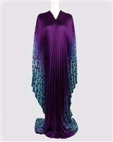 AYANSKI LONG PLEATED SILK KAFTAN D873LPKFSK62