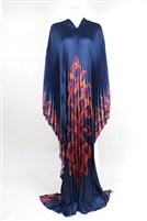 AYANSKI LONG PLEATED SILK KAFTAN D994LPKFSK62