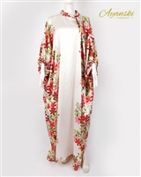 AYANSKI SILK KAFTAN - WITH BUTTERFLY HAND, HIGH NECK AND SIDE BOW RTW25D484KFSK58 Size 58