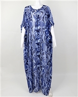 Stoned Ayanski Chiffon Kaftan With Butterfly Hand and Front Bow RTW32D1201KFCH58S Size 58