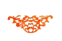 Orange Velvet Patches VVP.009.Orange