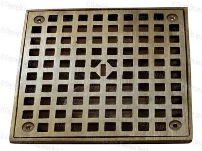wade 1100 floor drain round grate