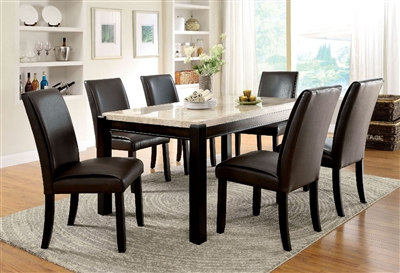 Genuine Marble Top Dining Set