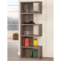 Semi-Backless Bookcase