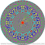 SPYROGY 48 3 - SUBTLE ENERGY MANDALA BY STEVEN MICHAEL KING