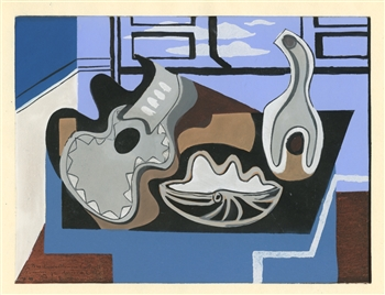 Louis Marcoussis 1929 pochoir edition of 1000