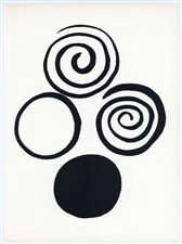 Alexander Calder screenprint, 1965