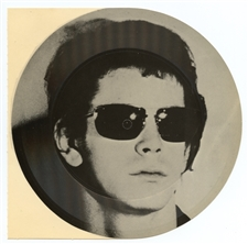 Andy Warhol lithograph Lou Reed Velvet Underground